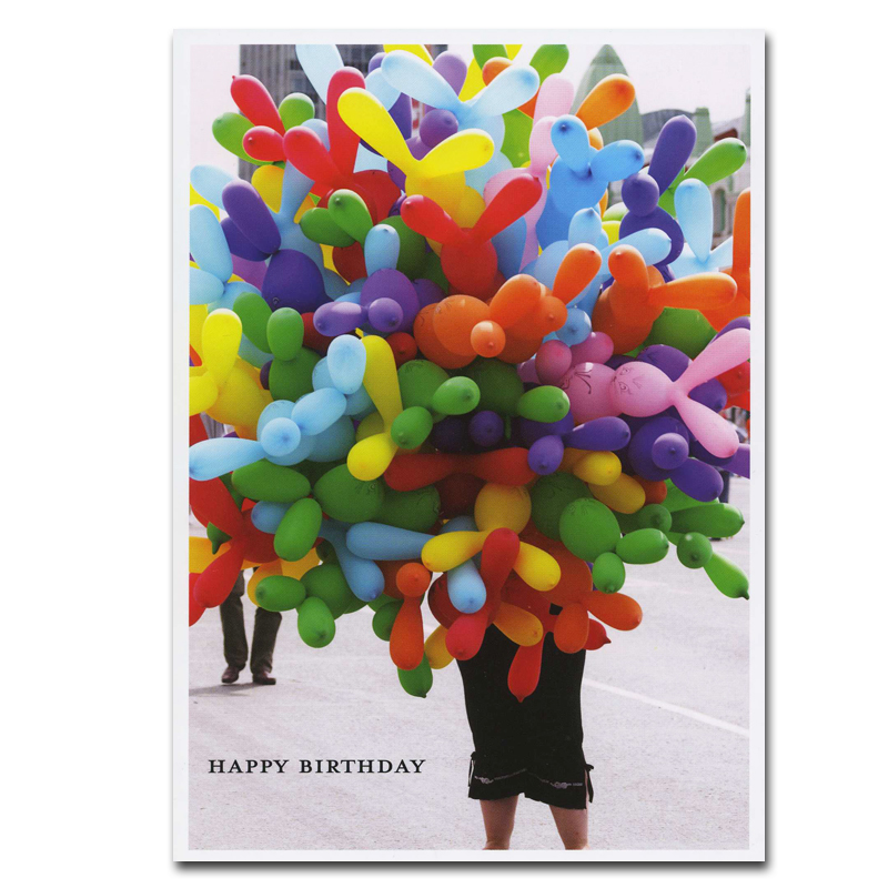 Birthday Cards Boxed Balloons for Sale 10 cards and env by – Birthday Cards Balloons