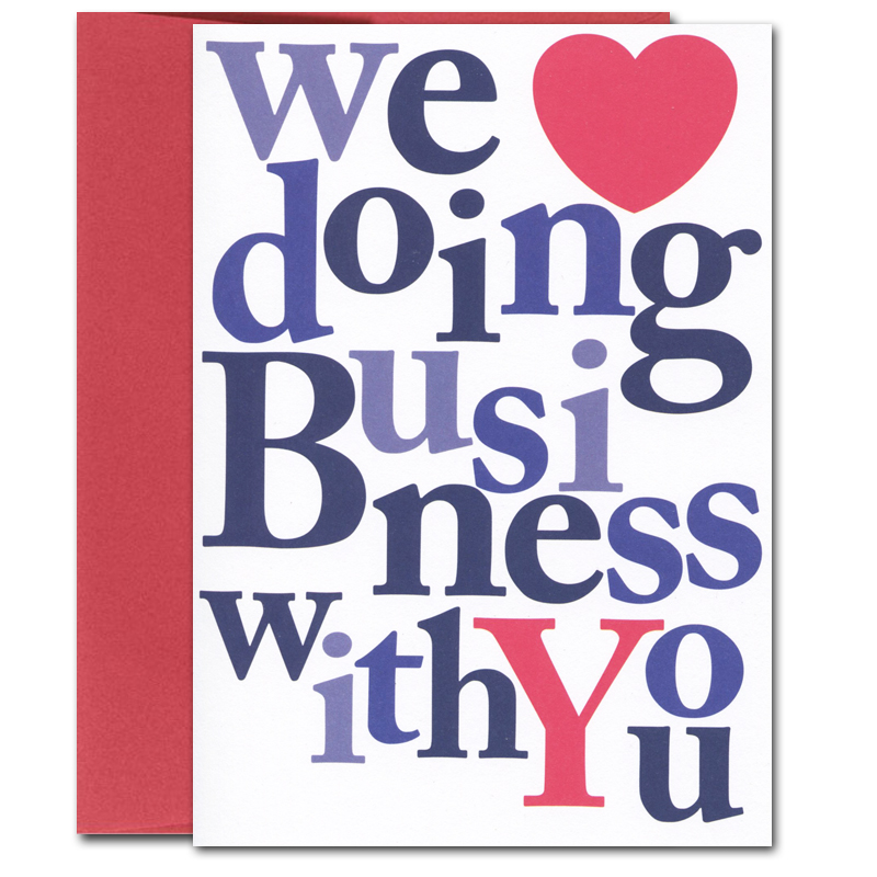 Valentines Card Business: Big Appreciation by CroninCards - Boxed ...